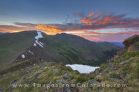 Berhtoud Pass and Mount Flora Sunrise 2