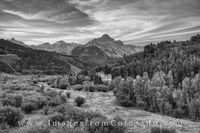 Black and White of Mount Sneffels 1