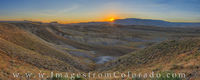 First Light over the Grand Mesa 710-1