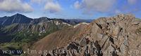 Grizzly Peak from Mount Sniktau Pano 1