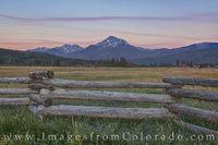July Sunrise at Byers Peak 1
