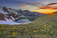 King Lake Summer Sunrise 703-1