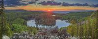 Last Light over Mesa Lake 709-1