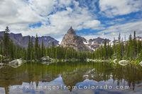 Lone Eagle Peak - Indian Peaks - Panorama 1