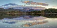Meadow Creek Reservoir and Mount Neva Panorama 1