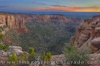 Monument Canyon Sunrise 3