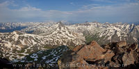 Panorama from Uncompahgre Peak 1