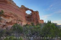 Rattlesnake Canyon Arches Morning 2