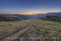 Sunrise on the Continental Divide Trail 1