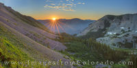 Sunrise on the Trail to Cathedral Lake 2