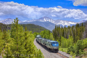 amtrac, train, parry peak, denver, winter park, fraser, storm clouds, berthoud pass, continental divide, tourism, tourist, travel, summer