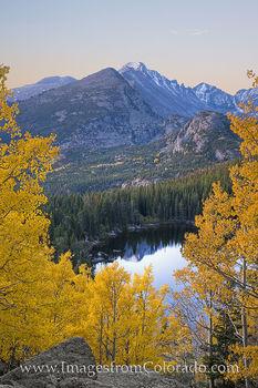 rocky mountain national park, autumn, longs peak, bear lake, fall, rmnp, rocky mountains, estes park, national parks, colorado peaks, 14ers