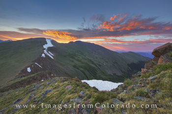 Berhtoud Pass and Mount Flora Sunrise 2
