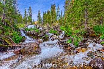 Blue Lakes Cascade 1