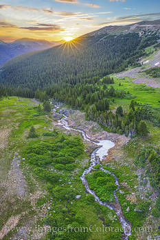 butler gulch, drone, sunrise, morning, clear creek county, grand county, hike, exploring
