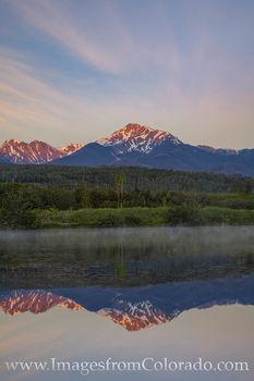 Byers Peak Reflection 1