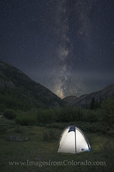 Camping under the Milky Way 1