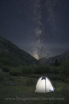 milky way, camping, colorado night, lake city, stars, colorado camping, milky way photos