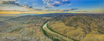 Colorado River Panorama near Grand Junctoin 717-1