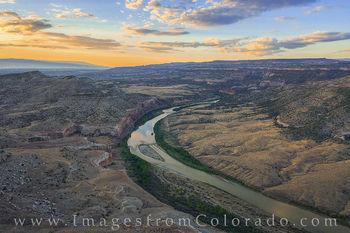 Colorado River and Horsethief Canyon Morning 717-1