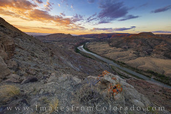 Colorado River at Sunrise on the Western Slope 717-1