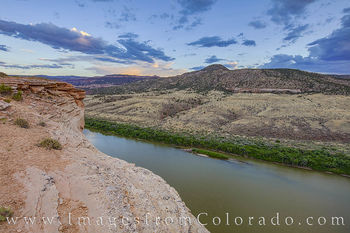colorado river, kokopelli trail, grand junction, evening, overlook, summer, hiking, exploring, biking, mesa county