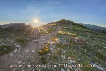 Continental Divide Trail Morning 1