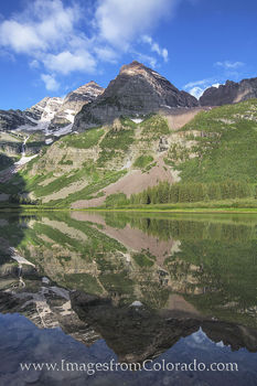 Crater lake, maroon bells, maroon lake, maroon bells images, 14ers, maroon lake trail, Colorado hikes, Colorado landscapes