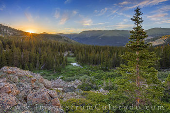 current creek, berthoud pass, colorado mines peak, grand county, sunrise, hike