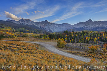 fall, dallas divide, october, ridgway, sneffels, autumn, county road 9, cr9