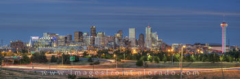 Denver skyline Panorama, Denver Skyline images, downtown denver, city scape, speer boulevard, Republic Plaza