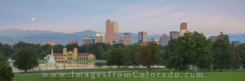 denver skyline, downtown denver, city park, denver images, denver skyline photos, boat house, boathouse, city park boathouse, denver cityscape, downtown denver photos, city park images