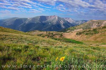 Englemann Peak from Berthoud Pass 1