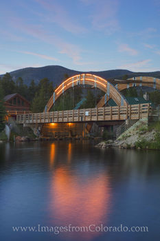 grand lake colorado, grand lake bridge, grand county, rocky mountain national park, jericho road, grand lake channel