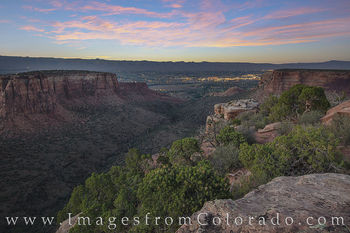 Grand Junction, Grand View, Colorado National Monument, rim rock road, canyon, sunset, summer, colorado, explore colorado, cliff