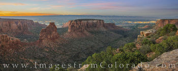 grand view, colorado national monument, fruita, grand junction, canyon, fruita canyon, monument canyon, summer, sunset