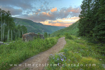 Colorado Hiking Trails Images and Prints