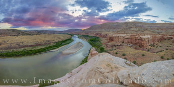 horsethief canyon, grand junction, mesa county, colorado river, hiking, panorama, sunset, kokopelli trail, biking, prints for sale