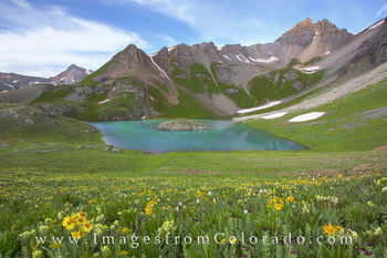Ice lakes, ice lakes trail, island lake, silverton, wildflowers, 13ers, hikes, san juan mountains, Colorado hikes, Colorado trails