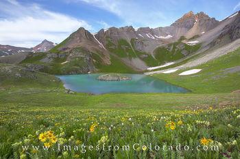 Ice Lakes Trail, Island Lake 2