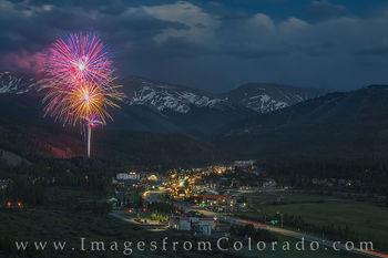 July 4 Fireworks at Winter Park 2