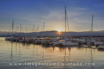 grand county, lake granby, boats, boat images, colorado lakes, sunrise, colorado sunrise, grand lake.
