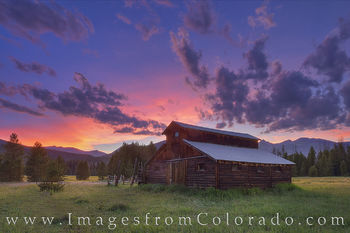 Little Buckaroo Barn, Rocky Mountain National Park 2