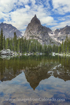 lone eagle peak, indian peaks, monarch lake, grand county, mirror lake, grand county images, colorado mountains, colorado images, colorado landscapes