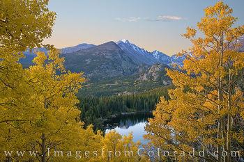 aspen, longs peak, bear lake, rocky mountain national park, rmnp, autumn, gold, 14ers
