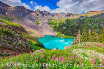 The Blue Lakes near Ouray - a Beautiful Morning