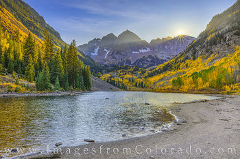 Maroon Bells Autumn Sunset 103-1