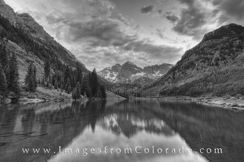 maroon bells, black and white, maroon bells wilderness, maroon lake, aspen colorado, elk range, north maroon peak, south maroon peak, colorado black and white