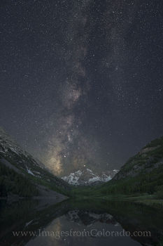 maroon bells, milky way, maroon bells photos, milky way images, night images, nighttime photos, aspen colorado, maroon bells photos, maroon bells wilderness, maroon lake, maroon creek, 14ers