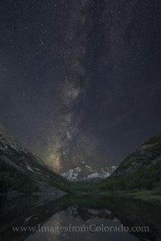 Maroon Bells under the Milky Way 3